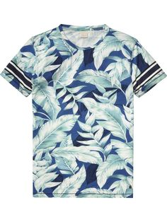 Printed T-Shirt |Jersey s/s tee's & tops|Men Clothing at Scotch & Soda