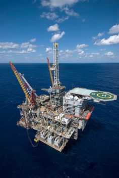 Shell's Perdido Spar, the world's deepest drilling and production platform, floating in more than 8,000 feet of water in the Gulf of Mexico's Alaminos Canyon area – and an important component of how Shell and its partners once solved production infrastructure problem there. It's also symbolic of the importance the deepwater Gulf continues to play in today's energy picture. Story on page 10 of the October 2013 EXPLORER. Photo courtesy of Shell Oil.