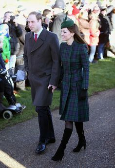 Celeb Diary: Printul William, Kate Middleton & printul Harry in King's Lynn, Anglia