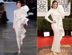 Paula patton in stephane rolland couture