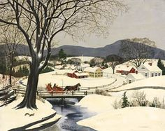 Charlotte Joan Sternberg ~ Winter