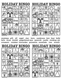 Fun Activity for Kids at Christmas. Use red and green M&M's to mark their bingo spots. Christmas Bingo, Christmas Activities For Kids, 25 Days Of Christmas, Christmas Makes, Christmas Holidays, Holiday Crafts, Holiday Fun, Holidays With Kids, Outdoor Christmas Decorations