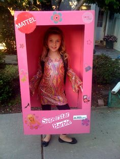 The Best Barbie Costume! So creative. We love it. Barbie in a Box