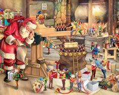 Image result for santas workshop puzzle