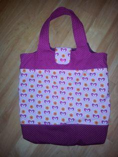 Einkaufstasche KURT, in lila und pink