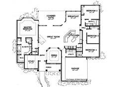 images about Floor Plan Ideas on Pinterest   House plans    American   American Plan  American Style  Bedroom Story House Plans  Bedroom Floor Plans  House Plans Square Feet  Farmhouse Floorplans