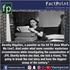 Died while investigating JFK assassination