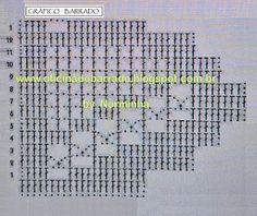 OFICINA DO BARRADO: Barrado Croche