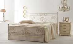 Handmade Iron Bedrooms from Greece  Model: Nefeli