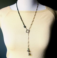 Hey, I found this really awesome Etsy listing at https://www.etsy.com/listing/205164390/lariat-necklace-of-turquoise-sterling