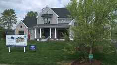 """MEQUON -- A new house in Mequon is about to hit the market -- but this one is unlike any other in the area. It's the Better Homes and Gardens """"Innovation Home,"""" built with the best new technology to make a home safer, smarter and more efficient. Home Safes, Better Homes And Gardens, Building A House, Innovation, Shed, New Homes, Home And Garden, Outdoor Structures, Cabin"""