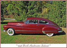 1948 Buick Roadmaster Sedanet, via Flickr.