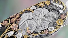 3Dtangoo DYNAMIN PHOTO- ATTI KNIFE - Daniele POZZI engraver