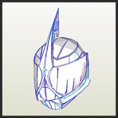 This papercraft is a life size Kamen Rider Accel's Bike Form Helmet, from theKamen Rider W (Kamen Rider Double), a 2009-2010 Japanese tokusatsu drama, the