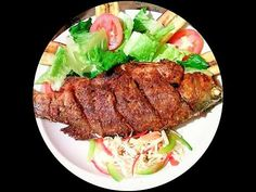 Haitian Food Recipes, Fish Recipes, Healthy Meals, Healthy Recipes, Cleaning Fish, Island Food, Caribbean, Fries, French Tips