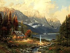 Are you looking for Paint By Number Kits of Mountains? You'll find plenty of beautiful mountain scenery with these stunning paint by number kits with mountains, trees, rivers and waterfalls. Would make a wonderful gift for yourself or for any gift giving occasion.