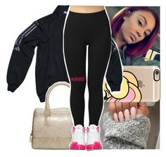 """""""live a rich n*gga life im just bein honest *future!*"""" by lamamig ❤ liked on Polyvore featuring Casetify, adidas and Furla"""