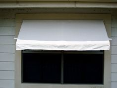 Diy retractable awning-uses a pvc frame. My awning is probably too big but maybe this will give me some inspiration