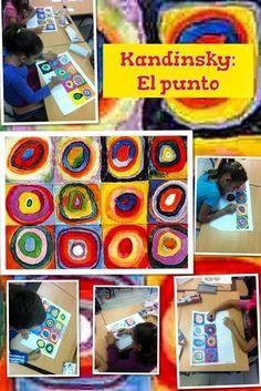 Ideas para mi aula de Primaria: Kandinsky: El punto (Formas y colores I) | Aprender Manualidades Infantiles | Scoop.it