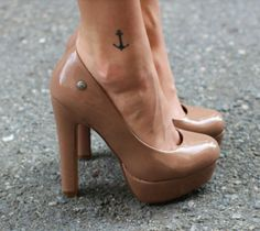 Cute placement for the anchor tattoo I want :)