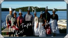 Paras johtoryhmä ikinä! Kielorannassa uudenlaista tekemisen meininkiä kokkailemassa, kesäkuus 2014.