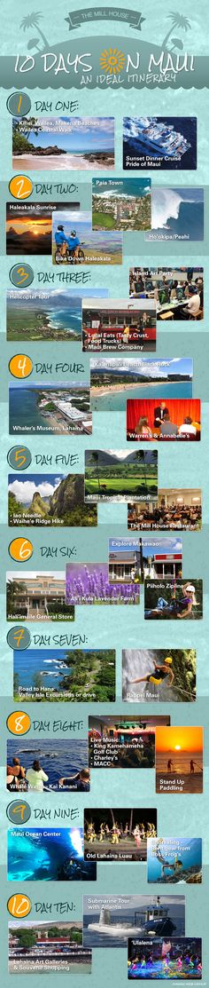 10 Days Maui itinerary                                                                                                                                                      More