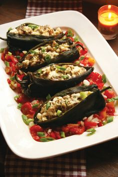 Stuffed Poblano Pepper Recipe With Quail Meat and Goat Cheese - Food - GRIT Magazine..... I would sub the quail with chicken