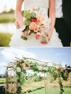 Love these photos by Ryan Flynn of Kristen and Pete's Sunriver, Oregon Wedding!