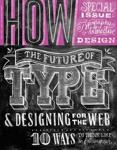 HOW Magazine July 2012 Digital Issue: Typography Tips & Inspiration