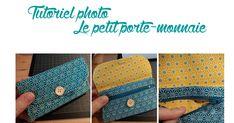 Tuto porte monnaie.pdf Continental Wallet, Louis Vuitton Damier, Coin Purse, Sewing, Pattern, Diy, Bags, Cocktails, France