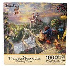 Beauty and the Beast Thomas Kinkade Disney puzzle