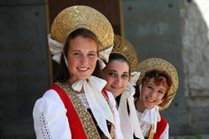 Traditional WALSER Costumes - Valle D'Aosta - Italy