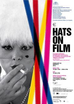 """hats-on-film -Il cappello di Firenze, sarà il protagonista dal 20 Febbraio all' 8 Marzo a Los Angeles, della mostra """"Hats on film"""". Il cappello, made in Italy, più precisamente made in Tuscany è stato scelto per rappresentare l'Italia nella settimana della cultura italiana negli Stati Uniti. #madeinitaly"""
