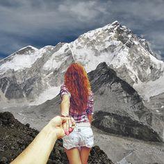 Follow Me--- La novia de Murad Osmann, lo lleva alrededor del mundo...