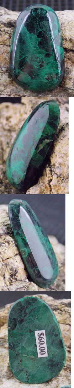 Malachite 10236: Chatoyant Malachite - 49 Cts - 33 X 21 Mm - Milpillas Mine, Mexico 21371 -> BUY IT NOW ONLY: $60 on eBay!