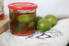 Honey Lime Home Remedy for colds or sore scratchy throats. Or just because it's yummy.