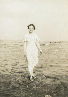 Vera on the beach