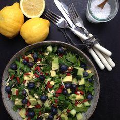 Vanløse blues.....: Grøn super food salat