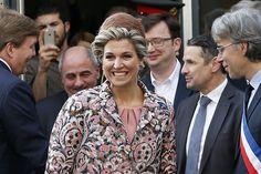 PARIJS (ANP). Innovatie, samenwerking op een keur van terreinen, en mode vormden de hoofdbestandsdelen van het vroege middagprogramma van koning Willem...