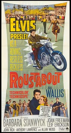 Roustabout 1964 http://www.mildredsfatburgers.com/the-blog/wheels-on-his-heels-and-all-that