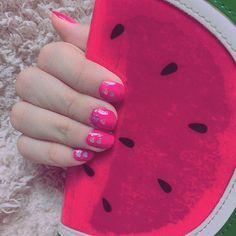 ネイルしたよ #ネイル#pink#スイカ##summer by 1618chiharu1109