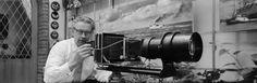 Frits J. Rotgans met camera (1956)