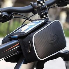 Cheap front pannier, Buy Quality bicycle accessories directly from China tube bag Suppliers: Cycling Bicycle Bike Top Frame Front Pannier Tube Bag Double Pouch Holder Mountain Touch Screen Bicycle Accessories Road Bike Accessories, Mountain Bike Accessories, Folding Mountain Bike, Mountain Bike Shoes, Mountain Bicycle, Cycling Bag, Cycling Bikes, Cycling Equipment, Road Cycling