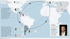 La ruta del dinero K. K=Kirchner