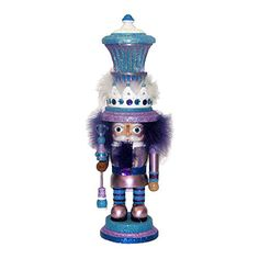 Kurt Adler Hollywood Nutcracker 18Inch Purple and Blue ** This is an Amazon Affiliate link. Want additional info? Click on the image.