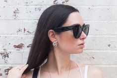 coco and vera | Luxe marble studs from olive and piper