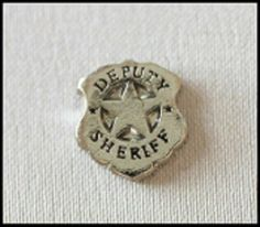 Deputy Sheriff/Police Floating Charm - Fits all brands of glass lockets