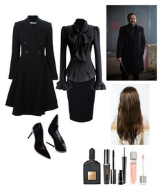 """""""(Fem) Crowley"""" by darksnowwitch ❤ liked on Polyvore featuring Givenchy, Lancôme and MAC Cosmetics"""