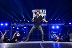 Thomas Rhett performs at Madison Square Garden in New York City on 25 February 2015 Country Boys, Country Music, Easton Corbin, Dustin Lynch, Dancing In The Dark, Justin Moore, Jake Owen, Dierks Bentley, Thomas Rhett