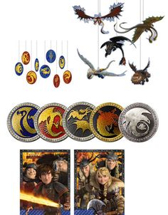 How to Train Your Dragon 2 Decoration Kit